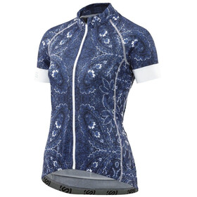 Skins Cycle Classic Bike Jersey Shortsleeve Women Full Zip blue